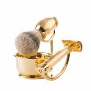 Benjamin Barber Imperial 4-delars Rakset Gold (Set without razor)