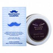 Benjamin Barber Mustaschvax + Pin