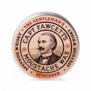 Captain Fawcett Moustache Wax Gentleman's Stiffener Malt Whisky