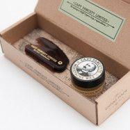 Captain Fawcett Moustache Wax & Folding Comb