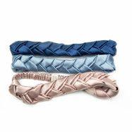 Amelie Soie Secrets de beauté Premium Collection  Braided Hairband Ros