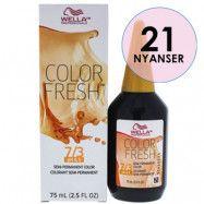 Wella Color Fresh pH 6.5 7/3 Medium Gold Blonde