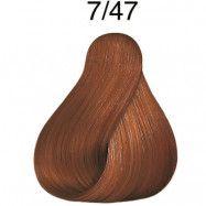 Wella Color Fresh pH 6.5 7/47 Medium Blonde Red Brown