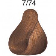 Wella Color Fresh pH 6.5 7/74 Medium Brunette Red Brown