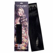 Poze Hairextensions Poze Clip & Go Löshår Miss Volume 55cm 7st 1N Midn