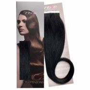 Poze Hairextensions Poze Tape On Extensions 1N Midnight Black 4 cm/bit