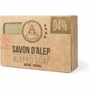 Aleppo Aleppotvål 4% lagerbärsolja eco