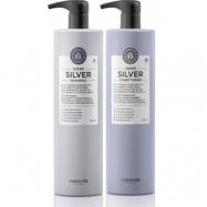 Maria Nila Sheer Silver Duo XXL