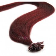 Poze Hairextensions Poze Keratin Premium Extensions 5RV Red Passion 20