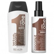 Revlon Professional Uniq One Coconut Shampoo + Hair Treatment, Revlon