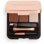 Makeup Revolution Brow Sculpt Kit Medium