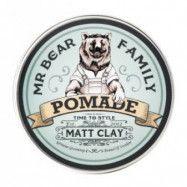 Mr Bear Pomade Matt Clay 100ml