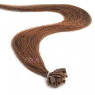 Poze Hairextensions Poze Keratin Standard 50cm 7BN Mocha Brown