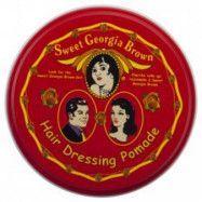 Sweet Georgia Brown Hair Dressing Pomade Red