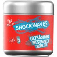 Wella Styling Wella Shockwaves Ultra Strong Mess Constructor Creme Gel