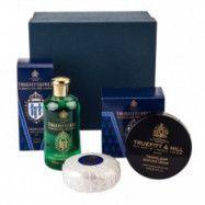 Truefitt & Hill Bathroom Gift Set Trafalgar: Bowl, Bath & Shower Gel & Soap