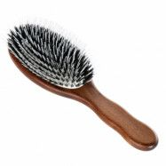 Acca Kappa Hair Extension Oval Brush Kotibe´ Wood 100% Boar Bristles &