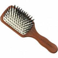 Acca Kappa Mini Paddle Brush Kotibe´ Wood 100% Boar Bristles