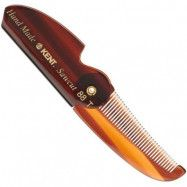 Kent Brushes Folding Pocket Comb Fine Hair, Kent Brushes