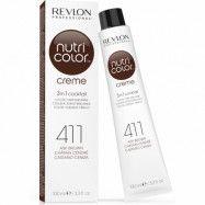 Revlon Nutri Color Creme 411 Ash Brown