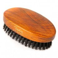 Taylor of Old Bond Street Dark Wood Military Hair Brush, Taylor of Old Bond Street