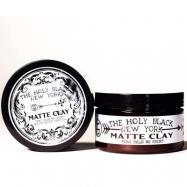 The Holy Black Matte Clay