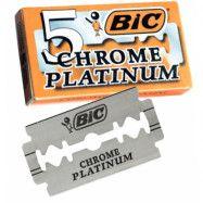 BIC Chrome Platinum Double Edge Razor Blades 5-p