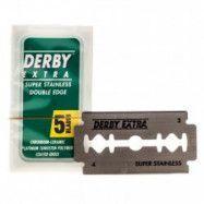 Derby Dubbelrakblad 5-pack