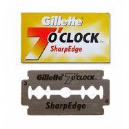 Gillette 7 O'clock Sharp Edge Double Edge Razor Blades 5-p