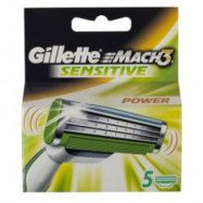 Gillette Mach3 Sensitive Power Rakblad 6-pack