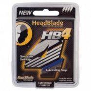 HeadBlade HB4 4-pack Rakblad