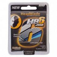 HeadBlade HB6 4-pack Rakblad