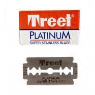 Treet Platinum Super Stainless Double Edge Razor Blades 10-p