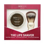 MenRock The Life Shaver - Sandalwood (100 ml)