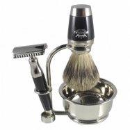 Mondial Dublino Shaving Set with Bowl, Safety Razor