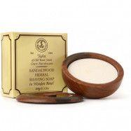 Taylor Of Old Bond Street Sandalwood Shaving Soap Wooden Bowl