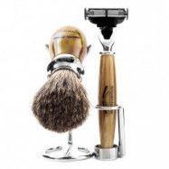 Benjamin Barber Duke 3-delars Rakset Horn (Gillette Fusion)