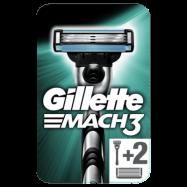 Gillette Mach3 rakhyvel för män + 3 Blad