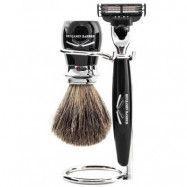 Benjamin Barber Duke 3pc Mach3 Shaving Set, Benjamin Barber