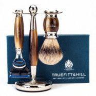 Truefitt & Hill Edwardian Shaving Set - Horn