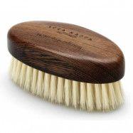 Barber Shop Collection Wenge Wood Beard Brush White