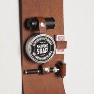 Damn Good Soap Company Leather Shaving Set Safety Razor