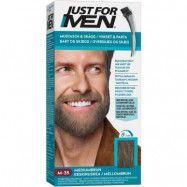 Just For Men Moustache & Beard Medium Brown, Just For Men