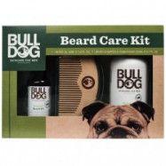 Bulldog Original Beard Care Kit (skäggolja, skäggschampo och kam)