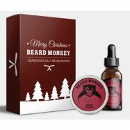 Beard Monkey Beard Styling Christmas Kit