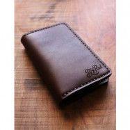 Big Red Beard Bi-Fold Wallet Walnut