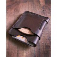 Big Red Beard Minimalist Wallet