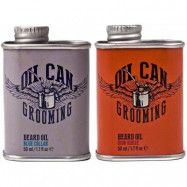 Oil Can Grooming Beard Oil Blue Collar + Iron Horse, Oil Can Grooming