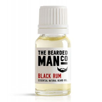 The Bearded Man Company Black Rum Beard Oil 10 ml
