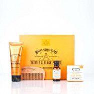 The Scottish Fine Soaps Thistle & Black Pepper Face & Beard Care Kit